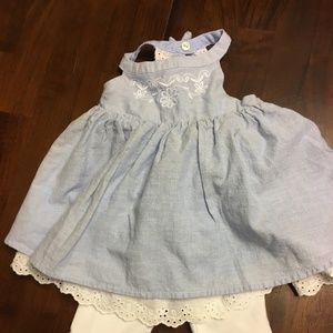 Blue 0-3 month baby girl dress